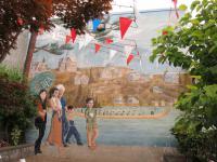 Gelato mural